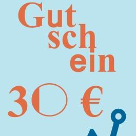 Gutschein 30 €