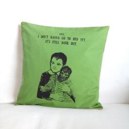 Kissenbezug grün Eddie Munster