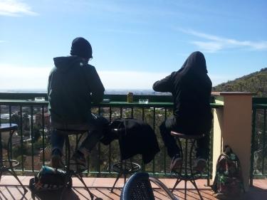 Auf halbem Weg zum Tibidabo