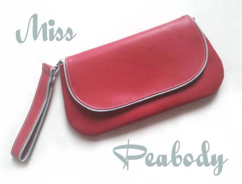 Mid Century Style Clutch Miss Peabody