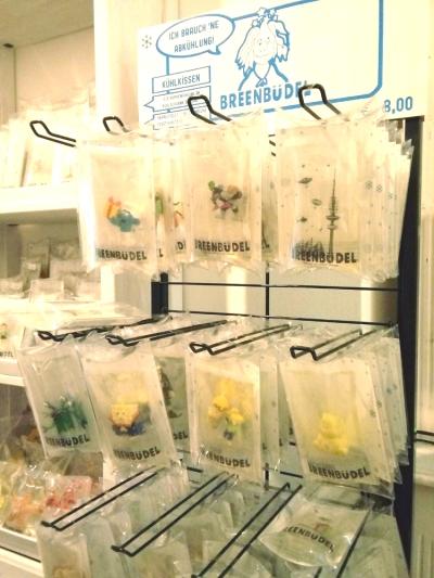 Breenbüdel - Kühlkissen mit Plastikspielfiguren