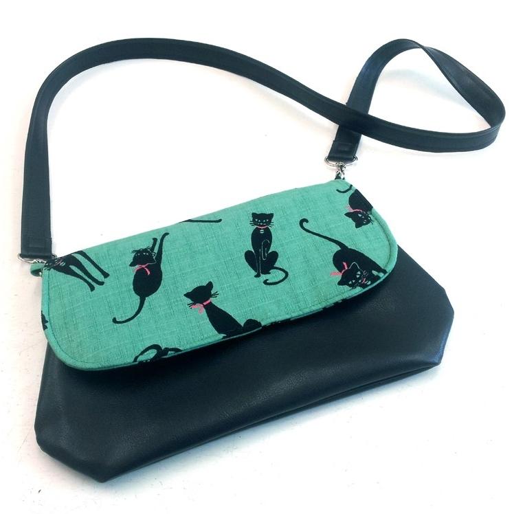 Handtasche Rockabilly Katze