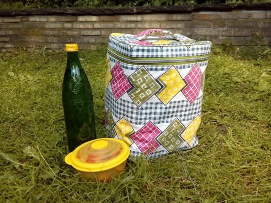 upcycling Kühltasche aus Kühltüte