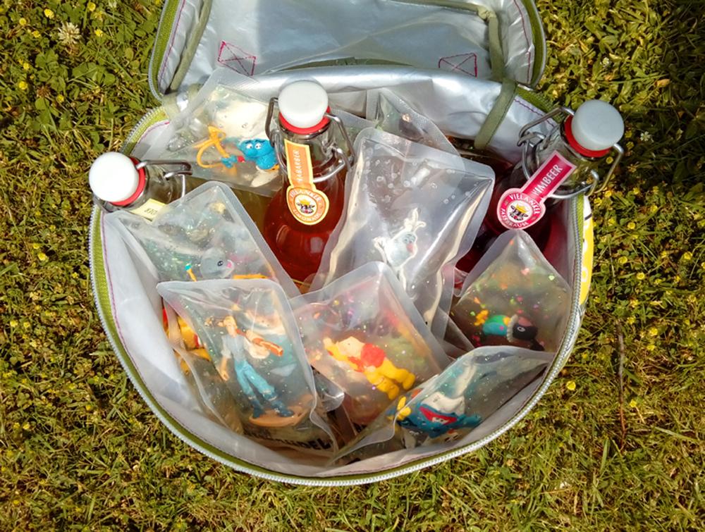 Upcycling Kühltasche mit Breenbüddel