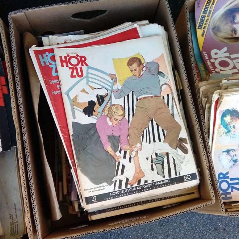 Hörzu Vintage Zeitschrift