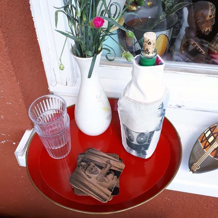 Kühlhusse und Glasuntersetzer DIY - Kopie