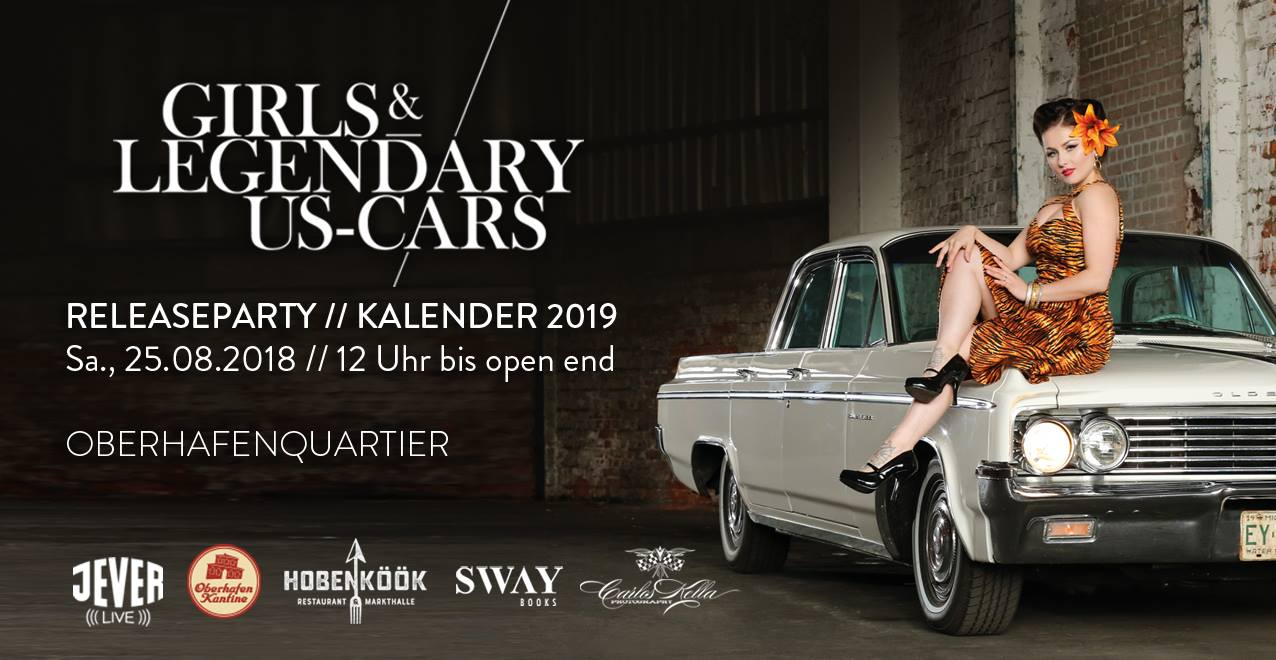 Girls and legendary US Cars 2019