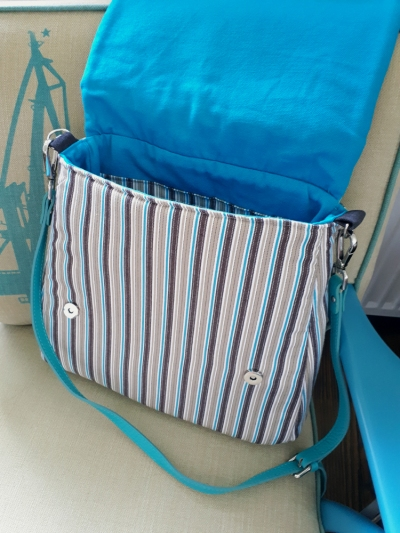 Sommerliche Kelly Bag